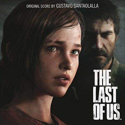 The Last Of Us - Gustavo Santaolalla - Video Game Soundtrack - NEW CD SEALED