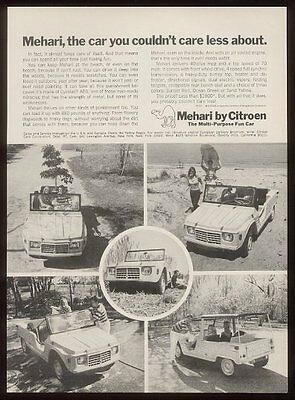 1969 Citroen Mehari 5 photo vintage car ad