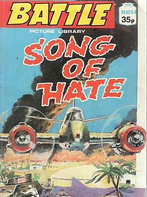1989  No 204 38410  Battle  Picture Library  SONG OF HATE