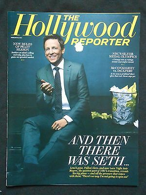 The Hollywood Reporter Magazine Seth Meyers
