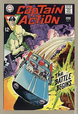 Captain Action (DC National) #2 1969 VF+ 8.5