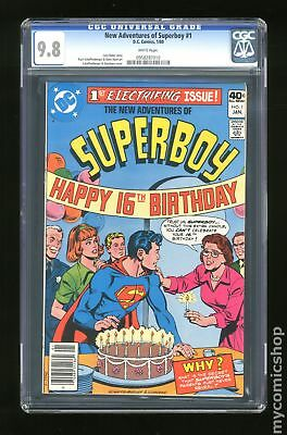 New Adventures of Superboy (DC) #1 1980 CGC 9.8 0958287010