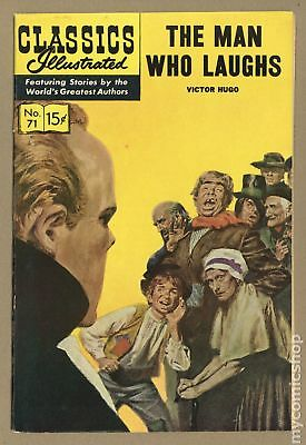 Classics Illustrated 071 The Man Who Laughs #2 1950 VF 8.0