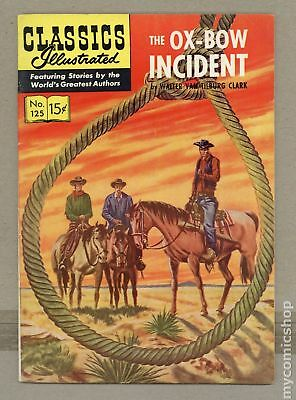 Classics Illustrated 125 The Ox Bow Incident #1 1955 VG/FN 5.0