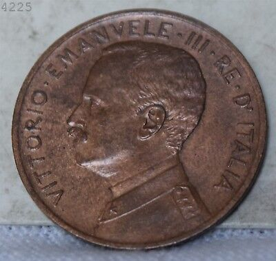 "1909 Italy 5 Centesimi ""Choice BU Red Brown"" *Free S/H After 1st Item*"