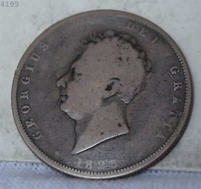 1825 Great Britain 1/2 Crown *Free S/H After 1st Item*