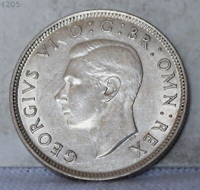 "1943 Great Britain 2 Shillings ""AU++/UNC"" *Free S/H After 1st Item*"