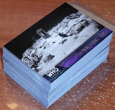 Doctor Who Timeless ~ COMPLETE 100-CARD BASE SET ~ Topps 2016
