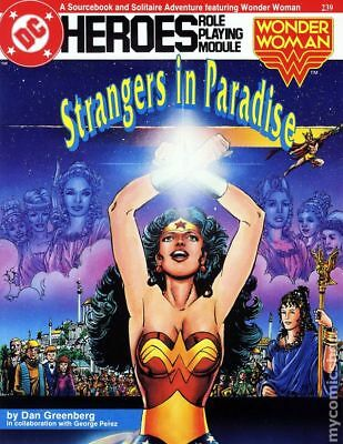 DC Heroes Role-Playing Module Wonder Woman Strangers in Paradise SC #239 1988 VF