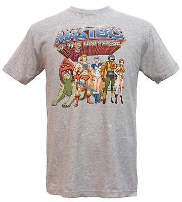 Masters of the Universe He-Man Family Group Vintage Men's T-Shirt
