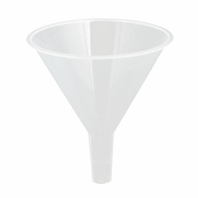 120mm Mouth Dia Lab Liquid Water Oil Plastic Funnel Transfer Filling Tool