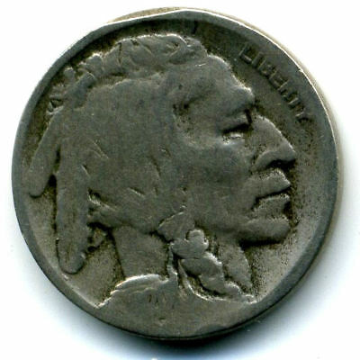1920 D Buffalo Indian Head Nickel Key Date US Circulated 5 Cent Coin U.S.A-1#307