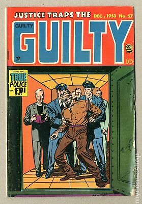 Justice Traps the Guilty #57 1953 GD/VG 3.0