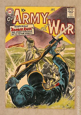 Our Army at War #60 1957 VG- 3.5