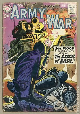 Our Army at War #92 1960 GD- 1.8
