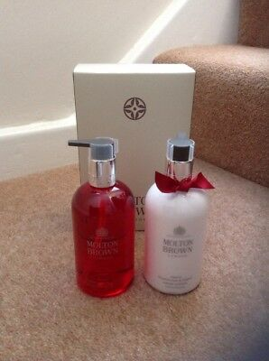 Molton Brown Frankincense & Allspice Hand Wash & Hand Lotion Set 300Ml Bnib