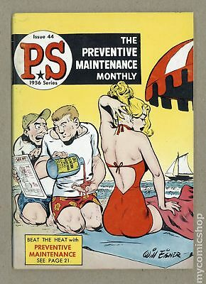 PS The Preventive Maintenance Monthly #44 1956 VG+ 4.5