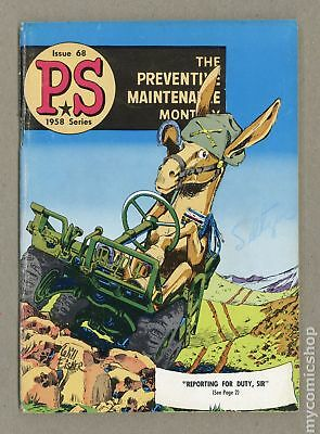 PS The Preventive Maintenance Monthly #68 1958 VG 4.0