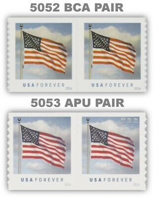 2016 Flag Clouds Forever Pairs 5052 SSP and 5053 APU Set of 2 MNH - Buy Now