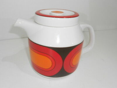tolle Space-Age Design Kaffeekanne  -Arzberg Form 3000 - Sizilia  1,5 Liter