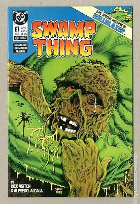 Swamp Thing (2nd Series) #67 1987 VF 8.0