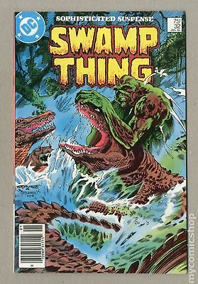 Swamp Thing (2nd Series) Mark Jewelers #32MJ 1985 FN+ 6.5