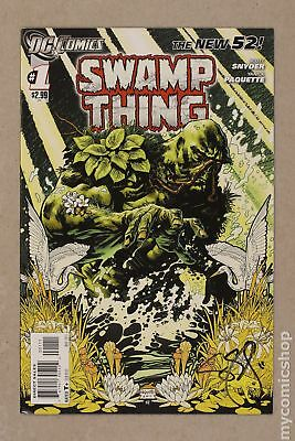Swamp Thing (5th Series) 1A 2011 FN/VF 7.0