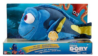 """Finding Dory - 10"""" Plush Dory with Sound  *BRAND NEW*"""