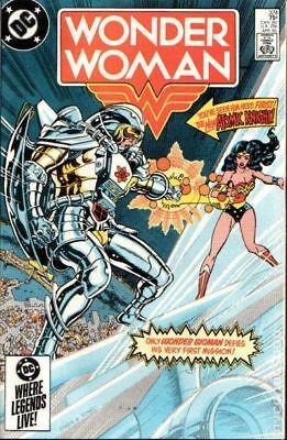 Wonder Woman (1st Series DC) #324 1985 VF Stock Image