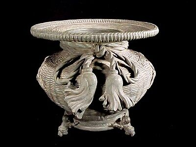 Han To Tang Dynasy Imperial Bronze Basket Censer Footed Stand Museum Quality