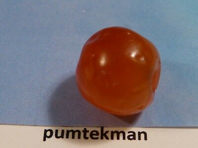 Ancient South East Asian Pyu Kingdom Juicy Carnelian Agate Bead 12 Mm