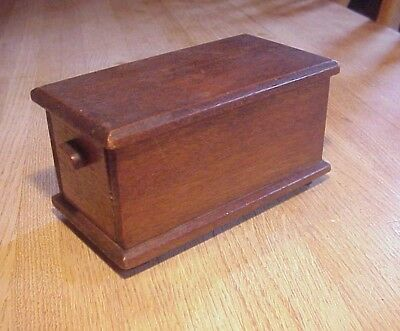 Late 19th/ Early 20th Century MINIATURE Blanket Chest Found In Ohio Estate