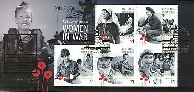 "2017 Women in War ""Collectors Day"" Brisbane Show Gold Overprint MS, Numbered"