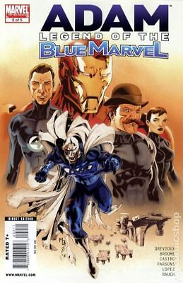 Adam Legend of the Blue Marvel #2 2009 FN+ 6.5 Stock Image