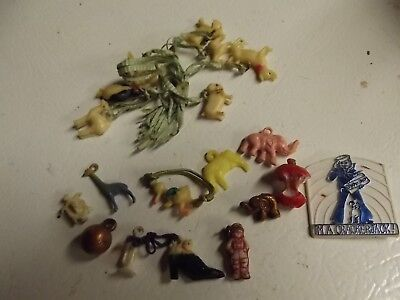 Large Lot of Vintage Cracker Jack Toys