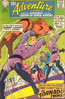 Adventure Comics (1st Series) #373 1968 VG 4.0 Stock Image