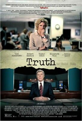 TRUTH great original D/S 27x40 movie poster (th17-01)