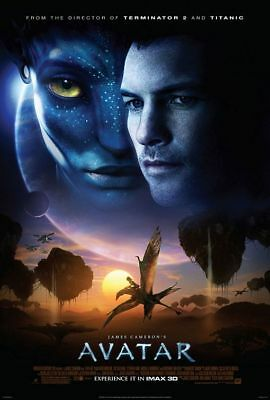 AVATAR great original ds 27x40 movie poster 2009 (031-01)