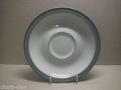 """DENBY POTTERY - Colonial Blue - 1 x 6.1"""" dia. SAUCER for TEA CUP"""