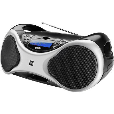 DAB+ CD-Radio Dual DAB-P 101 AUX UKW USB Digitalradio Boombox CD-Player
