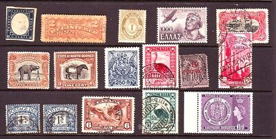 Old World * Old  World Postage Bob == 16 ==  Foreign  Used&mint Unsorted