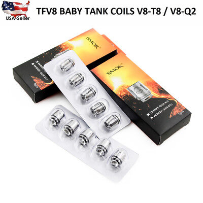 Authentic Smok TFV8 Baby Coils for TFV8 Baby Tank V8 Baby-Q2 X4 T8 T6 coil head