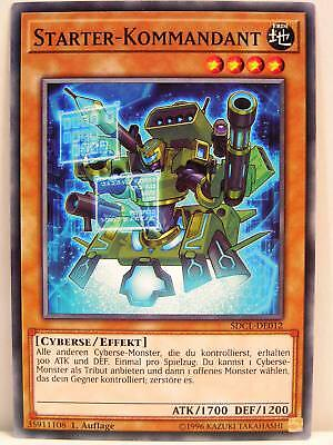 Yu-Gi-Oh - 2x #012 Starter-Kommandant - SDCL - Structure Deck Cyberse Link