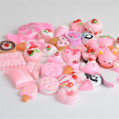 10x Pink Blessing bag Squishy Charm Squeeze Slow Rising Toy Collection Xmas Gift