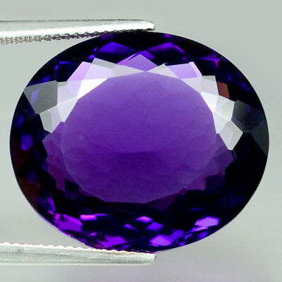 26.67 Ct Aaa! Purple Clr Change To Pink Brazilian Amethyst Oval