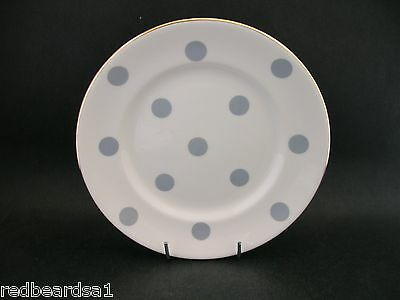 China Replacement Taylor & Kent Vintage Grey Polka Dot Tea Plate England 16cm