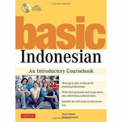Basic Indonesian - Paperback NEW Robson 2010-10-15