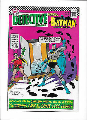 """Detective Comics #364  [1967 Vg-Fn]  """"the Curious Case Of The Crime-Less Clues!"""""""