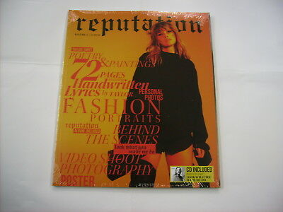 Taylor Swift - Reputation - Cd Deluxe Edition 2017 New Sealed