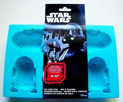 Bac A Glacons En Silicone - Star Wars R2-D2 - Article Neuf -